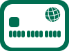 Illustration of a chip card